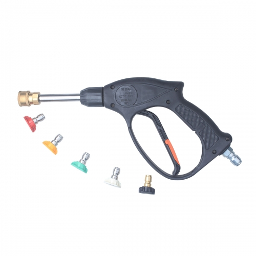 DUSICHIN DUS-400 High Pressure Washer Gun, 4000 PSI with 5-color Pressure Water Washer Nozzles